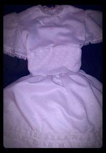 Size 10 girls white communion or Easter dress